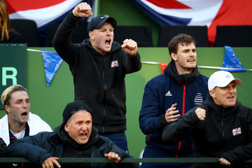 Kyle Edmund Spain v Great Britain - Davis Cup by BNP Paribas World Group First Round - Day 1