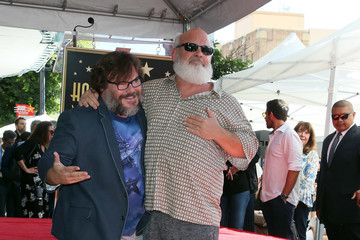 Kyle Gass Jack Black Honored With Star On The Hollywood Walk Of Fame