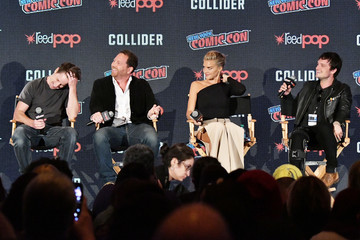 Kyle Hunter Hulu's 'Future Man' Panel at New York Comic Con