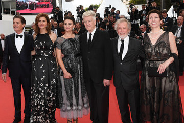 Kyle MacLachlan Sabrina Sutherland 'Twin Peaks' Red Carpet Arrivals - The 70th Annual Cannes Film Festival