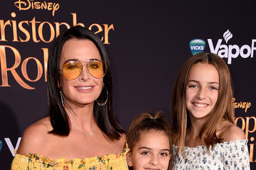 Kyle Richards Portia Umansky Premiere Of Disney's 'Christopher Robin' - Red Carpet
