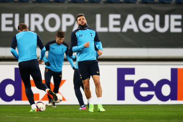 Kyle Walker Tottenham Hotspur Training Session and Press Conference