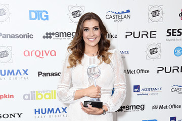 Kym Marsh TRIC Awards 2017 - Winners Room