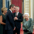 Kyriakos Mitsotakis HM The Queen Hosts NATO Leaders At Buckingham Palace Banquet