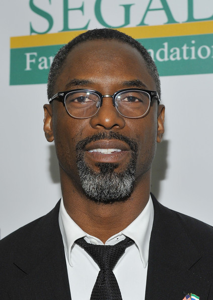 Isaiah Washington L Africana Night Fashion Week
