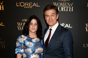 Lisa Oz and Dr. Oz attend the L'Oréal Paris Women of Worth Celebration at The Pierre Hotel on December 5, 2018 in New York City.