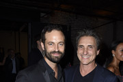 Benjamin Millepied and Lawrence Bender attend LA Dance Project's 2019 Fundraising Gala on October 19, 2019 in Los Angeles, California.