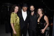Andie MacDowell, LL Cool J, Benjamin Millepied and Luisa Fernanda Espinosa attend LA Dance Project's 2019 Fundraising Gala on October 19, 2019 in Los Angeles, California.