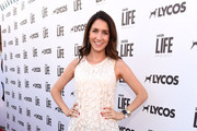 Actress Courtney J. Clark attends the LA Launch of LYCOS Life and the LYCOS Life Project at the Banned From TV Jam Space on June 8, 2015 in North Hollywood, California.