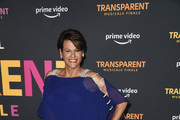 """Alexandra Billings arrives at the LA Premiere Of Amazon's """"Transparent Musicale Finale"""" at Regal LA Live on September 13, 2019 in Los Angeles, California."""