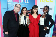 """(L-R) Marc Cherry, Lucy Liu, Ginnifer Goodwin and Kirby Howell-Baptiste attend the LA Premiere of CBS All Access' """"Why Women Kill"""" at Wallis Annenberg Center for the Performing Arts on August 07, 2019 in Beverly Hills, California."""