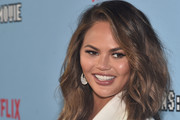 "Chrissy Teigen attends the premiere of Netflix's ""Between Two Ferns: The Movie"" at ArcLight Hollywood on September 16, 2019 in Hollywood, California."