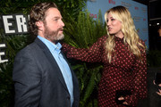 "Zach Galifianakis and Kaley Cuoco attend the premiere of Netflix's ""Between Two Ferns: The Movie"" at ArcLight Hollywood on September 16, 2019 in Hollywood, California."