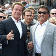 Sylvester Stallone and Arnold Schwarzenegger Photos