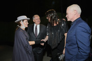 """(L-R) Leslie Harter Zemeckis, Robert Zemeckis, Ruve McDonough and Neal McDonough attend the LA premiere party for HISTORY's new drama """"Project Blue Book"""" on January 3, 2019 in Los Angeles, California."""