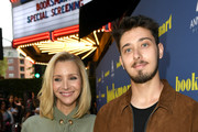 "Lisa Kudrow and Julian Murray Stern attend the LA special screening of Annapurna Pictures' ""Booksmart"" at Ace Hotel on May 13, 2019 in Los Angeles, California."