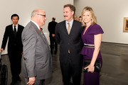 Robert Singer, Will Ferrell and Viveca Paulin-Ferrell attend LACMA's 2013 Collectors Committee - Gala Dinner  at LACMA on April 13, 2013 in Los Angeles, California.