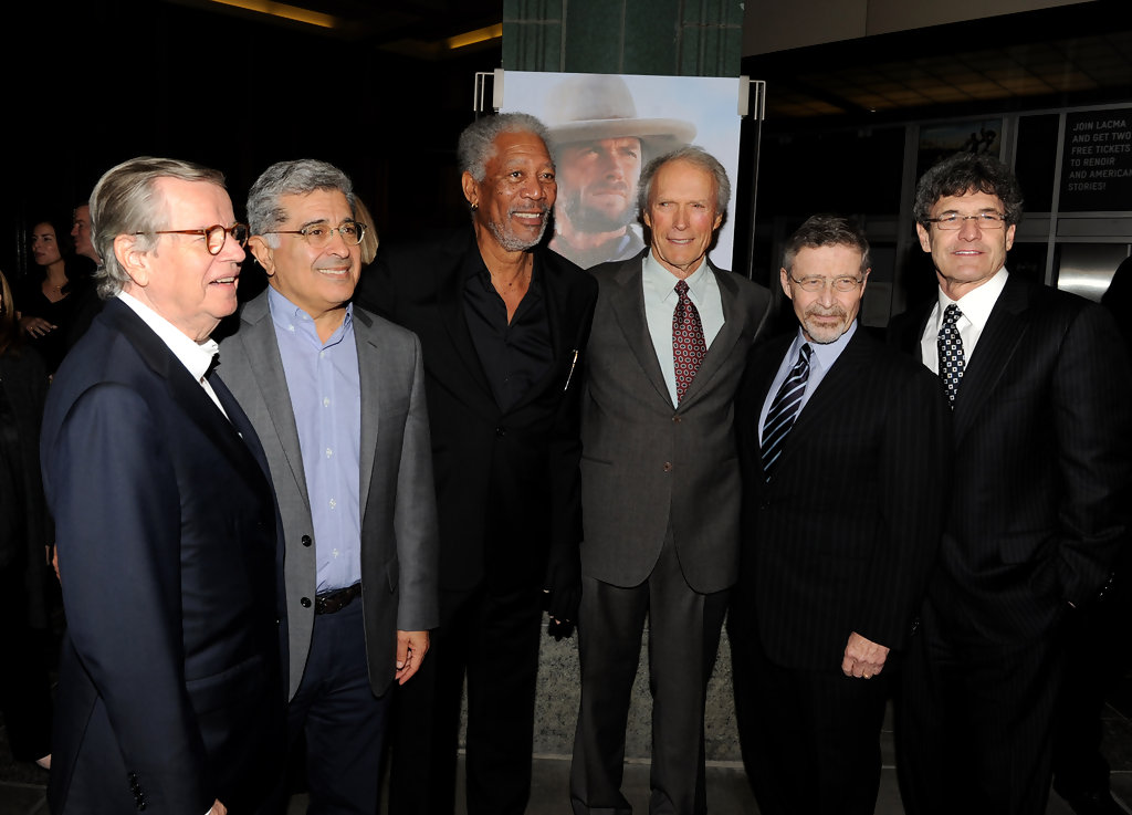 Clint Eastwood and Morgan Freeman Photos Photos - LACMA ...