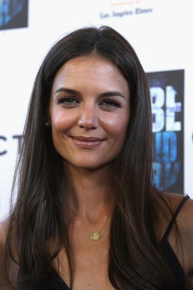 "Actress Katie Holmes  arrives at the LAFF closing night ""Dont Be Afraid Of The Dark at Regal Cinemas, L.A. Live on June 26, 2011 in Los Angeles, California."