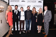(L -R) Alexandra Klim, Andrea Iervolino, Justin Long, Ed Gass-Donnelly, Abbie Cornish, Lady Monika Bacardi and  Diego Klattenhoff attend the LAVENDER afterparty at Tribeca Film Festival 2016 on April 18, 2016 in New York City.