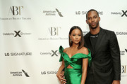 Karrueche Tran and Victor Cruz attend LG Signature at the American Ballet Theatre Fall Gala 2019 on October 16, 2019 in New York City.