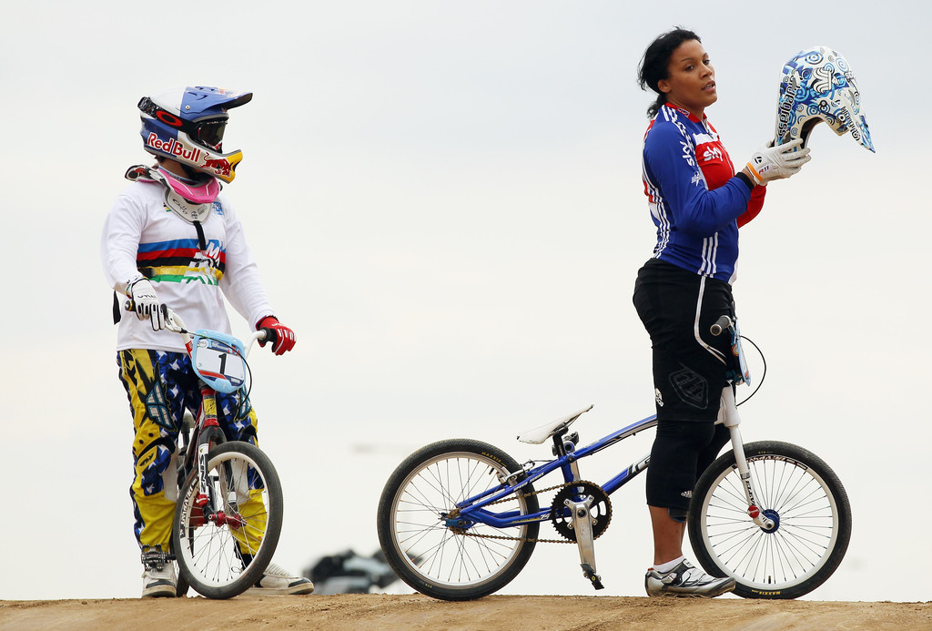 Mariana Pajon in LOCOG Test Events for London 2012