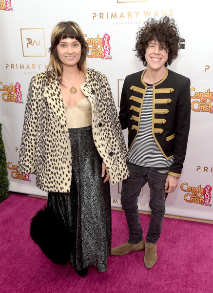 Primary Wave 10th Annual Pre-Grammy Party [clothing,fashion,carpet,red carpet,outerwear,fur,premiere,event,flooring,fashion design,lauren ruth ward,lp,west hollywood,california,l,the london west hollywood,primary wave 10th annual pre-grammy party]