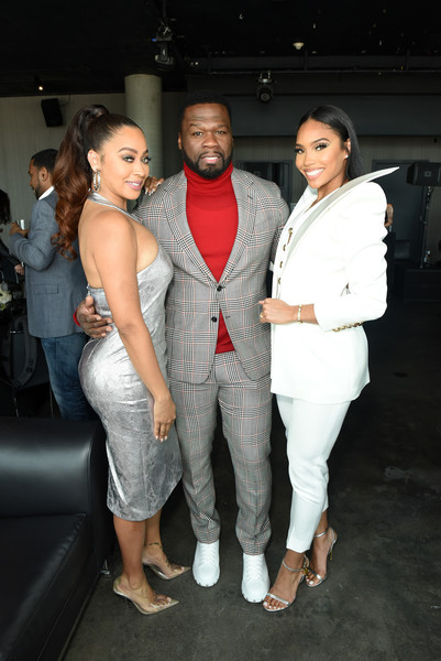 50 Cent Walk Of Fame Ceremony [fashion,event,suit,fun,leg,fashion design,outerwear,footwear,formal wear,shoe,50 cent,jamira haines,la la anthony,l-r,california,hollywood,50 cent walk of fame ceremony,50 cent,la la anthony,hollywood walk-of-fame modern suite,rapper,hip hop music,actor,photograph,get rich or die tryin,hollywood]
