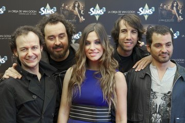 Pablo Benegas La Oreja de Van Gogh Launches New Album in Madrid