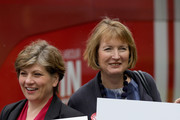 MP's Harriet Harman and Emily Thornberry pose for the media outside Palfrey Sure Start Centre as they join the Labour In battle bus to campaign in the West Midlands on June 13, 2016 in Walsall, England. Labour In have assembled the women's campaign team to canvass for votes to remain in the EU in the referendum. The Labour's Women In For Britain Campaign team included Angela Eagle, Emily Thornberry, Emma Reynolds, Harriet Harman, Jess Phillips, Kate Green, Kerry McCarthy, Lilian Greenwood, Maria Eagle, Shabana Mahmood, Valerie Vaz and Yvette Cooper.