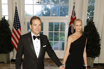 Lachlan Murdoch Guests Arrive For State Dinner At The White House Honoring Australian PM Morrison