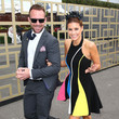 Lachlan Spark. Celebrities Attend Stakes Day