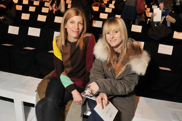 Amy Astley Lacoste - Front Row - Fall 2012 Mercedes-Benz Fashion Week