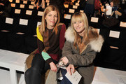 Vogue Fashion Market/Accessories Director Virginia Smith (L) and Teen Vogue Editor-in-Chief Amy Astley attend the Lacoste Fall 2012 fashion show during Mercedes-Benz Fashion Week at The Theatre at Lincoln Center on February 11, 2012 in New York City.