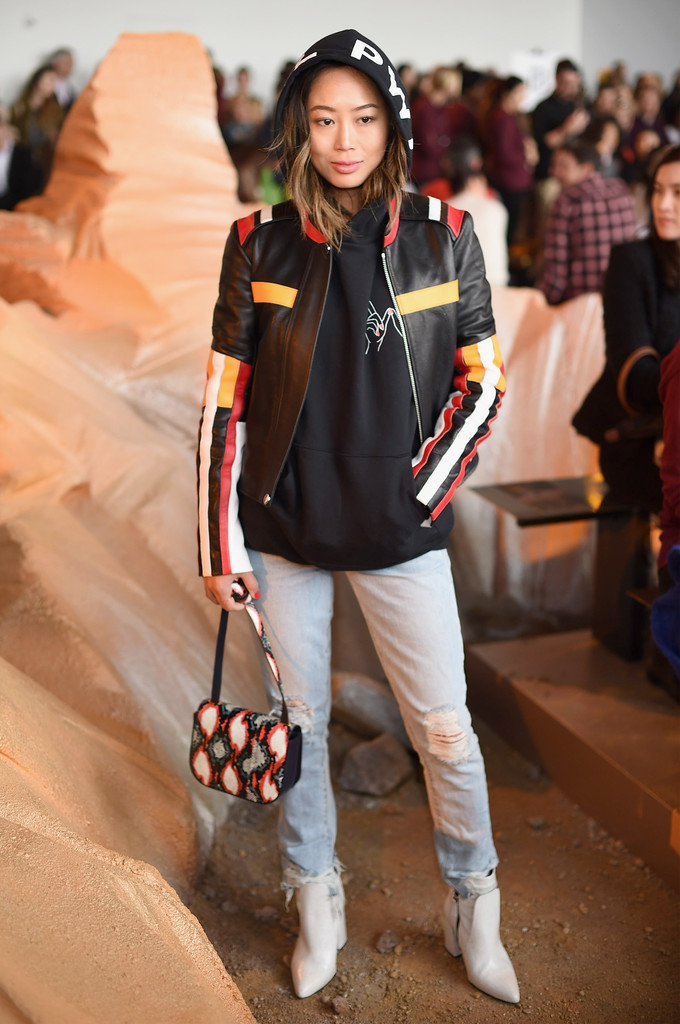 Aimee Song Photos Photos Lacoste Front Row February 2017 New York Fashion Week Zimbio