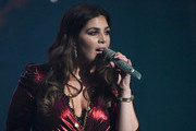 "Recording artist Hillary Scott of Lady Antebellum performs as the band kicks off its 15-show residency ""Our Kind of Vegas"" at The Pearl concert theater at Palms Casino Resort on February 8, 2019 in Las Vegas, Nevada."