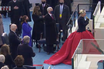Lady Gaga Joseph Biden Is Sworn In As 46th President Of The United States