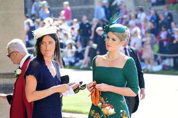 Lady Kitty Spencer Prince Harry Marries Ms. Meghan Markle - Windsor Castle