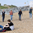 Lady Louise The Earl And Countess Of Wessex Take Part In A Great British Beach Clean
