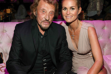 Laeticia Hallyday FIJI Water At The 9th Annual Pink Party Benefiting The Cedars-Sinai Women's Cancer Program