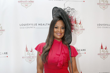 Laila Ali Louisville Healthcare CEO Council Kentucky Derby Greenroom