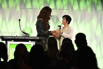 Laila Ali 37th Annual Salute to Women in Sports - Inside