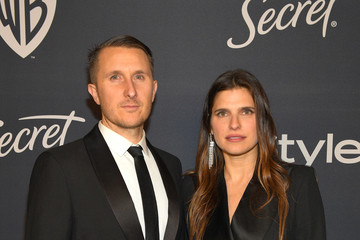 Lake Bell Scott Campbell The 2020 InStyle And Warner Bros. 77th Annual Golden Globe Awards Post-Party - Red Carpet