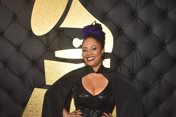 Lalah Hathaway The 59th GRAMMY Awards -  Red Carpet