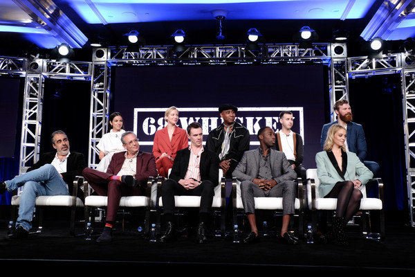 ViacomCBS Winter TCA Tour [performance,stage,event,heater,performing arts,musical theatre,music,stage equipment,talent show,music venue,viacomcbs winter tca tour,68 whiskey,high fidelity,stock photography,television,television critics association,getty images,photograph,actor,photography,roberto benabib,michael lehmann,christina rodio,jeremy tardy,lamont thompson,beth riesgraf,sam keeley,gage golightly,nicholas coombe]