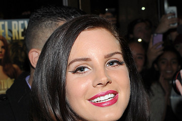 Lana Del Rey Lana Del Ray Arrives at Her Premiere Party