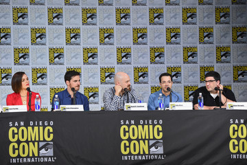 Lana Parrilla Colin O'Donoghue Comic-Con International 2017 - ABC's 'Once Upon A Time' Panel