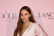 Negin Mirsalehi attends the Lancôme announces Zendaya as face of new Idôle fragrance at Palais D'Iena on July 02, 2019 in Paris, France.