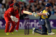 William Porterfield of Birmingham Bears bats during the NatWest T20 Blast match between Lancashire Lighting and Birmingham Bears at Old Trafford on June 26, 2015 in Manchester, England.