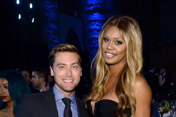 Lance Bass Inside Logo TV's 'Trailblazers' Event